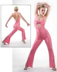 Pop'in Pink Catsuit