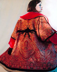Damask Red jacket