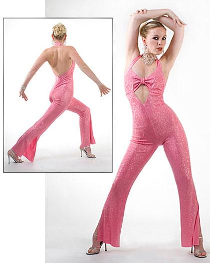 Pink Cat Suit