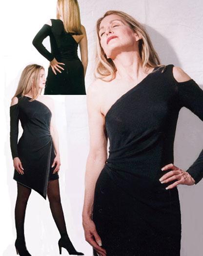 A-Symetrical Wrap Dress