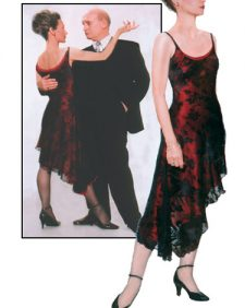 Delicate Bias Cut Chiffon Dress