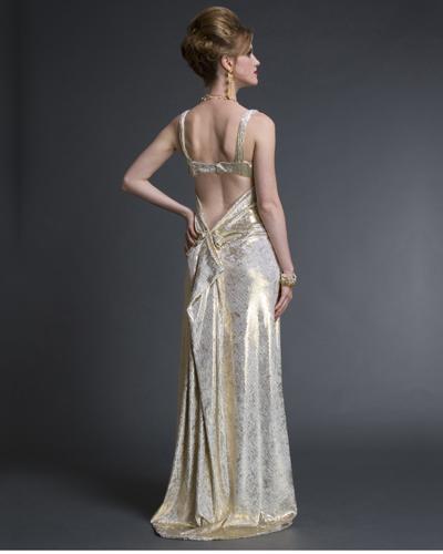 Glamour In Gold Velvet