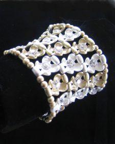 GoldWht Bracelet