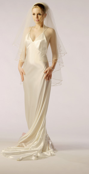1930\'s style Bias cut bridal gown - dancedress.com
