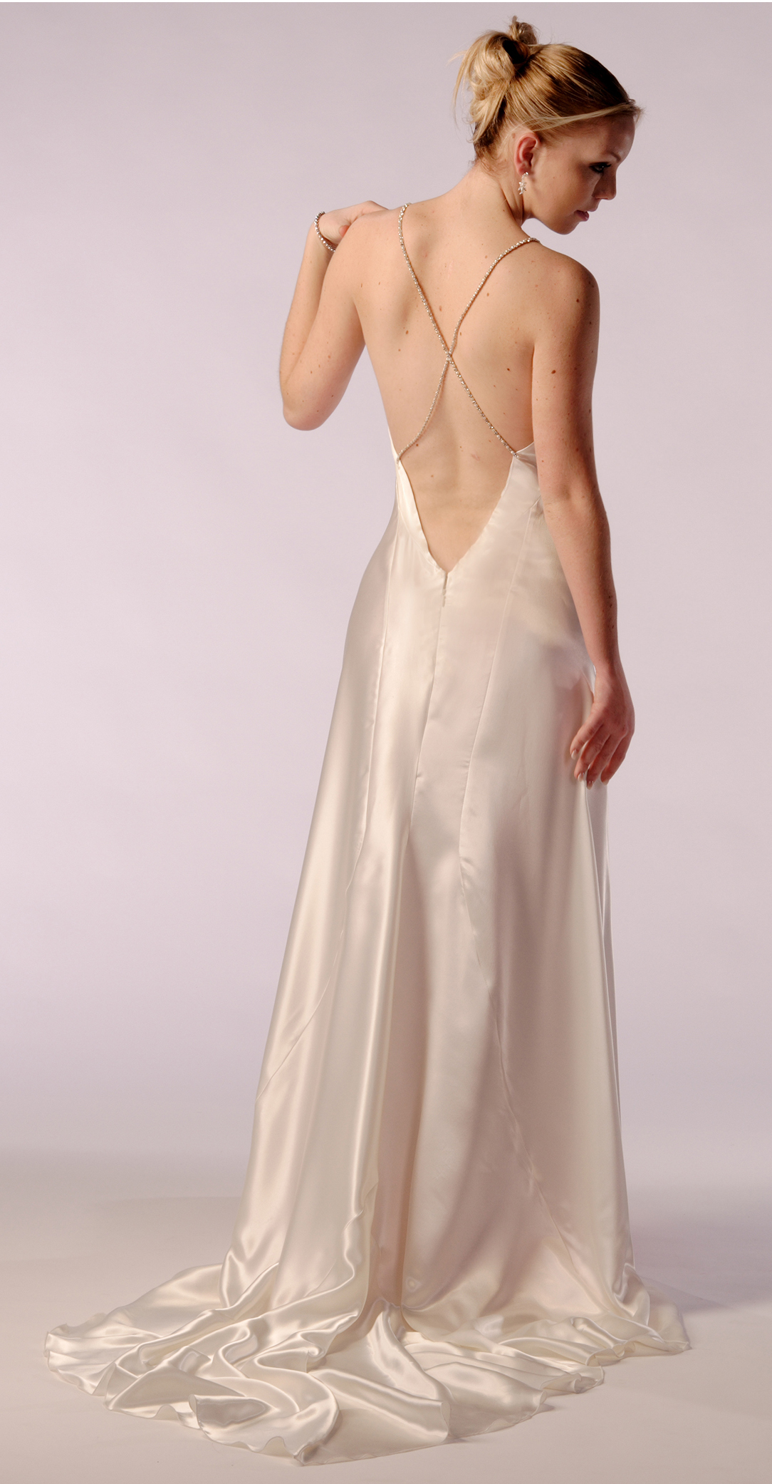 1930 u0026 39 s style bias cut bridal gown