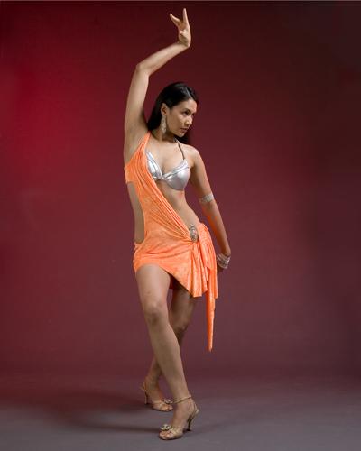 Orange And Silver Latin Rhythm