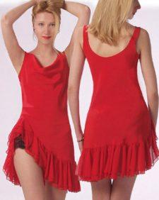Silk Cha Cha Dress