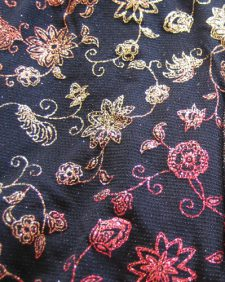 Ombre Floral On Black