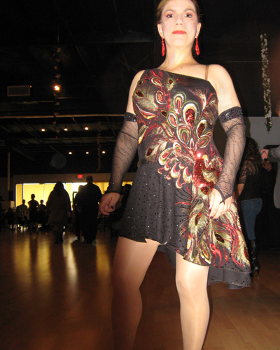Peacock Design Dress