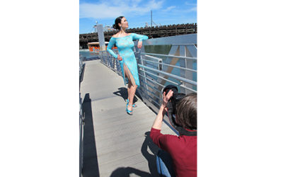 Tango photo shoot with Chelsea Eng on location In San Francisco
