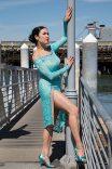 Aqua lace style 1655 www.dancedress.com
