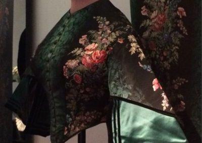 10 green kimono jacket